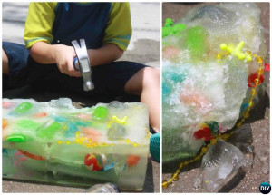DIY-Ice-Block-Treasure-Hunt-20-DIY-Summer-Outdoor-Games-For-Kids-Adults